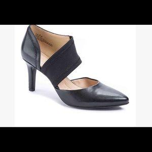 Black Tibby pump - never worn
